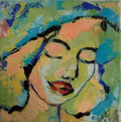 Portrait - 20 x 20 cm