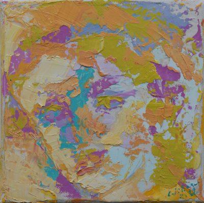 Portrait - 15 x 15 cm